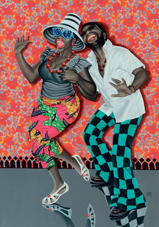 """Beauté Congo"", Fondation Cartier, Kiese Na Kiese de JP Mika"