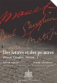Des lettres et des peintres (Manet, Gauguin, Matisse...)