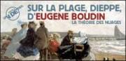 JUSTE UN DETAIL : SUR LA PLAGE, DIEPPE, D'EUGENE BOUDIN
