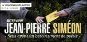 INTERVIEW DE JEAN-PIERRE SIMÉON
