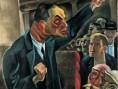 Conrad Felixmüller, 'L'Agitateur', 1920 - Allemagne, les années noires